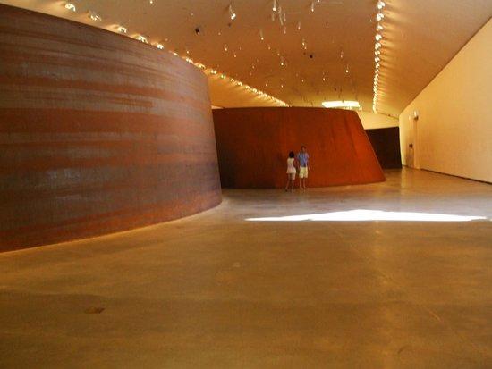 Museo Guggenheim de Bilbao: salle La matière du temps