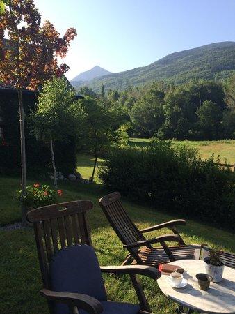 Hotel Selba d'Ansils: Garden view
