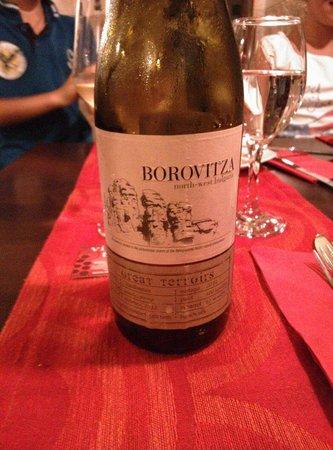 Vino & Tapas: Это белое вино нам очень понравилось
