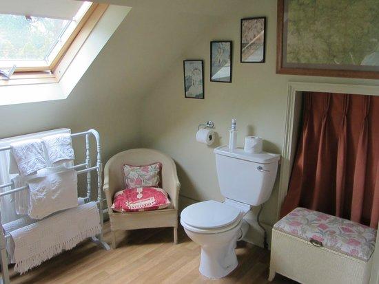 Duke House B&B: Bathroom in the twin room