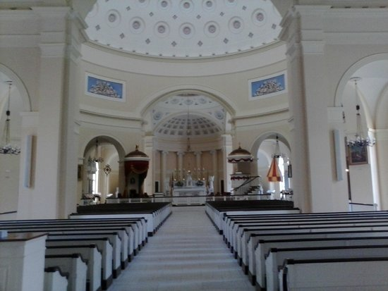 Basilica of the National Shrine of the Assumption of the Blessed Virgin Mary: inside the Basilica