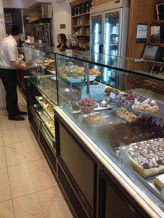 Roladin Bakery and Cafe: Display Case