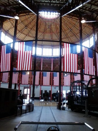 Baltimore and Ohio Railroad Museum: Top of Roundhouse