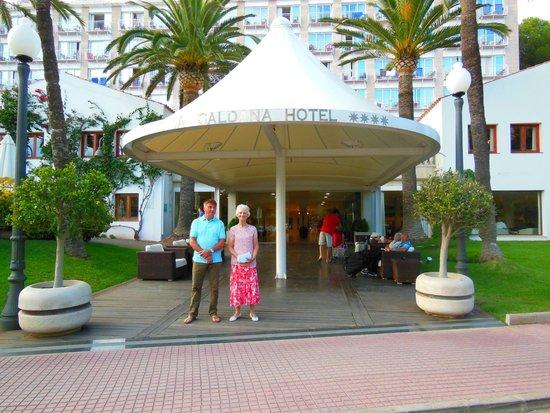 Hotel Cala Galdana & Villas d'Aljandar: Hotel entrance