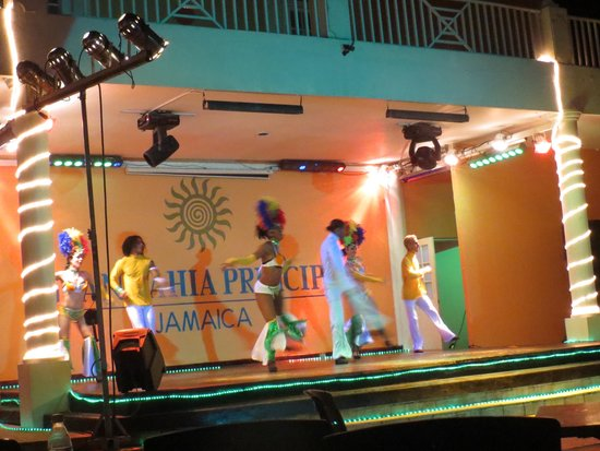Grand Bahia Principe Jamaica: Evening show