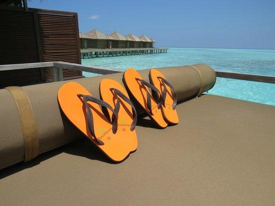 Anantara Veli Maldives Resort: Free Flip Flops!
