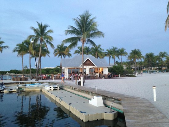 Tranquility Bay Beach House Resort: Tiki bar