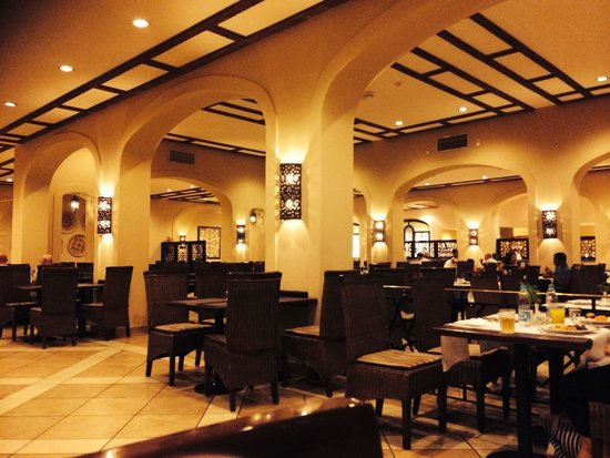 Jaz Mirabel Beach: Buffet restaurant