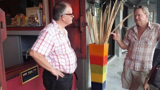 Baipho Boutique Residence Phuket: Hotelbesitzer Rudi