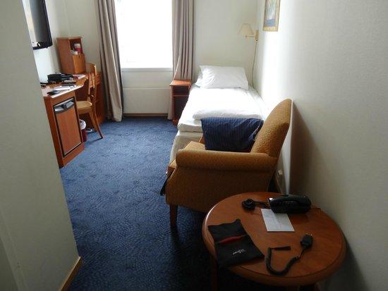 Thon Hotel Gildevangen: Small bedroom