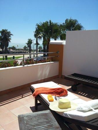 Playaballena Spa Hotel: La terraza de la suite