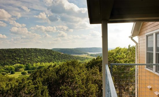 Travaasa Austin: Canyon View Balcony