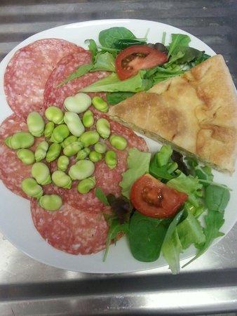 Zumba Beach Cafè : Pranzare all'italiana