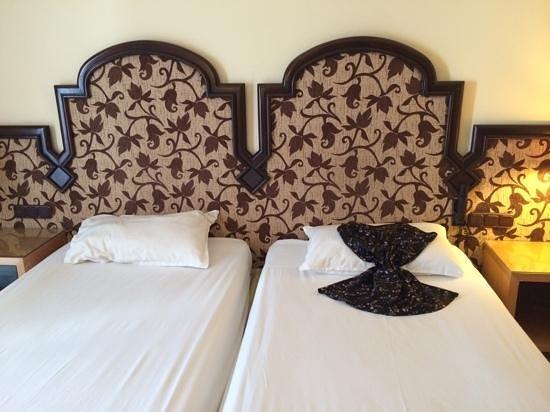 Marhaba Palace Hotel: spotless rooms