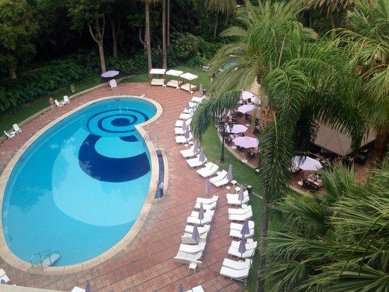 Hotel Botánico & The Oriental Spa Garden: Vista de la piscina desde la habitación