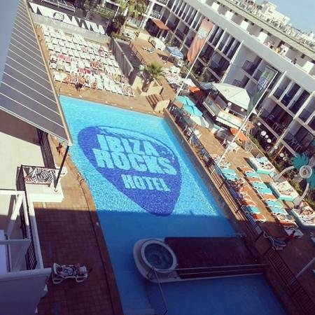 Ibiza Rocks Hotel : our view