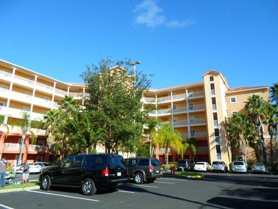 Westgate Town Center Resort & Spa: Em frente ao nosso condo