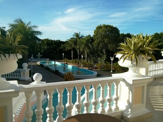 Iberostar Ensenachos: Terrasse de l'hôtel