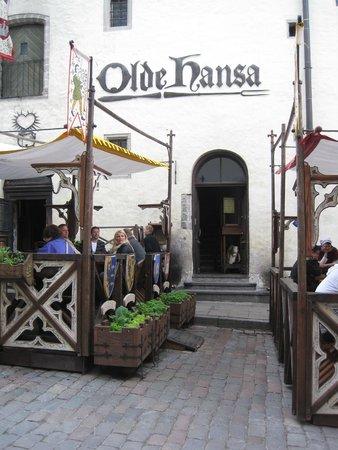 Olde Hansa : Entrance