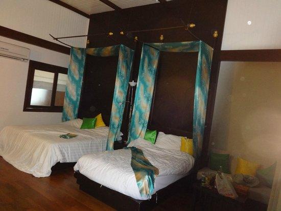 Aonang Phu Petra Resort, Krabi: Beds