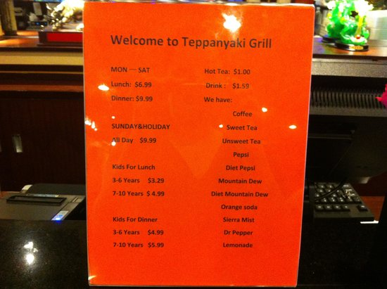 teppanyaki grill price picture of teppanyaki grill supreme rh tripadvisor co nz teppanyaki grill and buffet laurel prices teppanyaki grill lunch buffet price