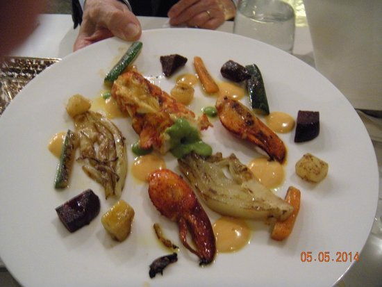 Antico Arco: A very tasty lobster dish