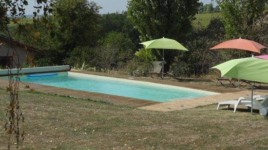 La Ferme de Loubens : La piscine