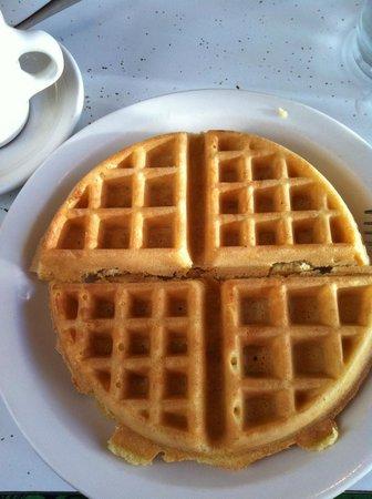 Rosie's: waffle, I like mine plain