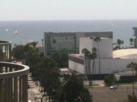 Le Meridien Delfina Santa Monica: View from our Unit