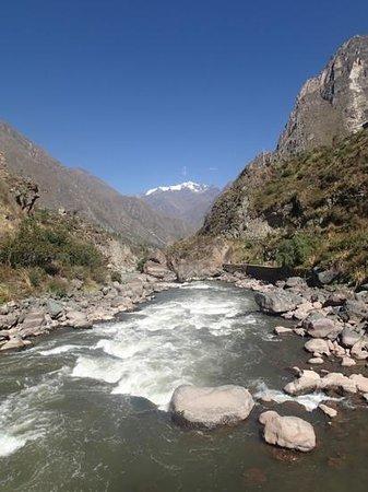 Camino Inca: beginning of the trail