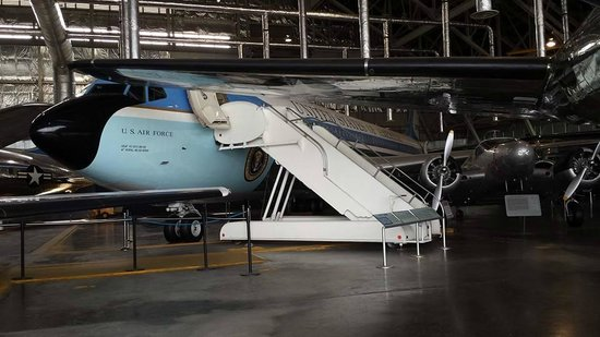 National Museum of the U.S. Air Force: JFK's Air Force One.