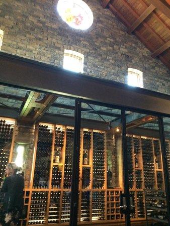 Silver Oak Cellars : ガラス張り