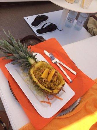 Ibiza Sun Apartments: lunch