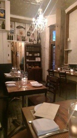 Aroma Kitchen & Winebar: The backroom