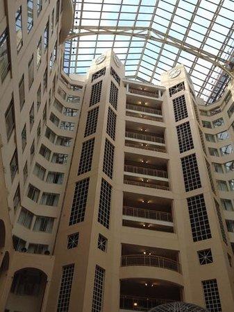 Atrium at the Grand Hyatt Washington