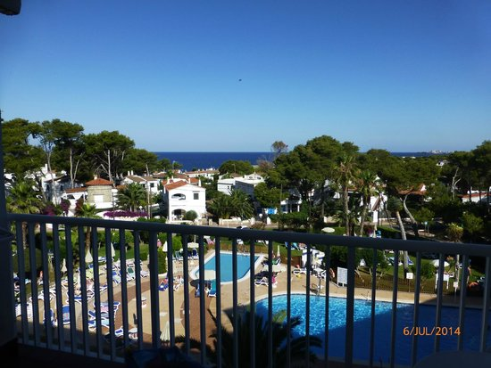 Cala Blanca Sun Hotel: View from room