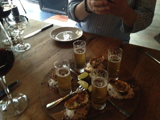 Marc Forgione : Oysters and Beer