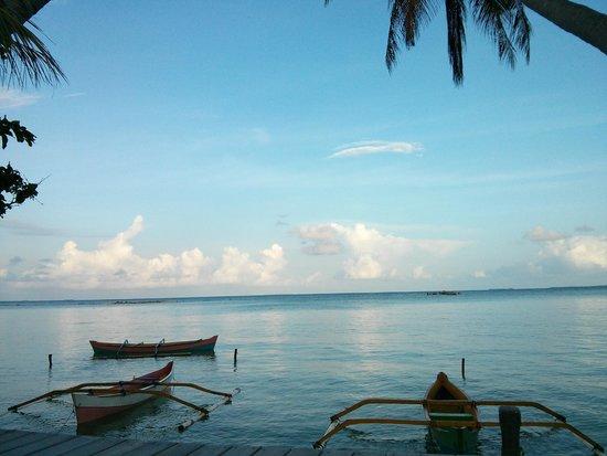 Kura Kura Resort: Blue lagoon