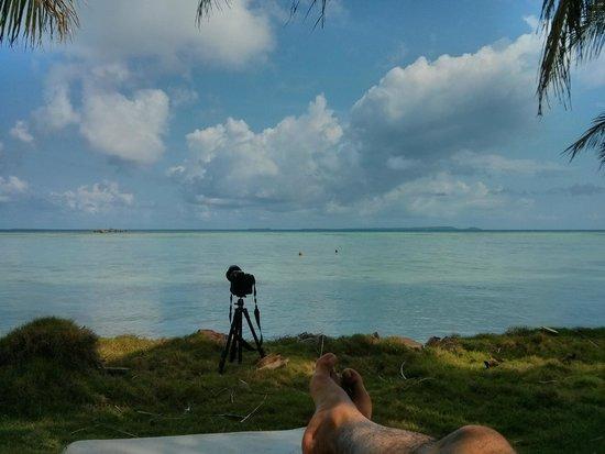 Kura Kura Resort : Blue lagoon