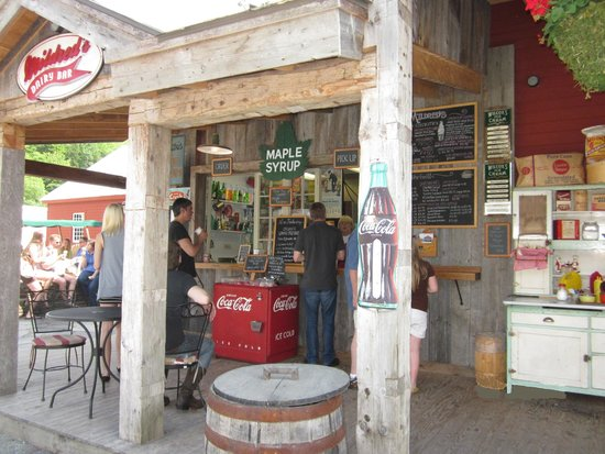 Vermont Country Store: Mildred's Dairy Bar