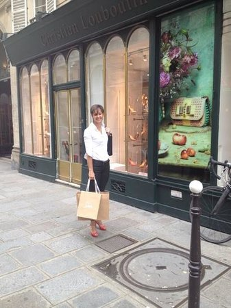 louboutin paris boutique