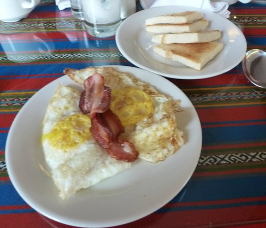 Wyndham Cusco Saqsayhuaman : Part of breakfast