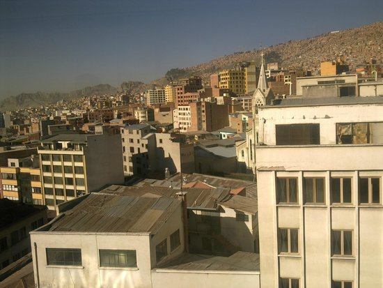 LOKI La Paz: view from Hostel on La Paz