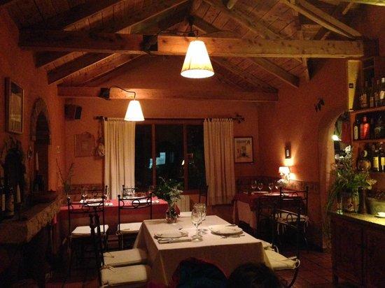 Il Gabbiano: Um dos ambientes do restaurante