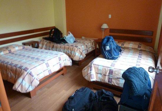 Hotel Casa de Mama Valle: Triple