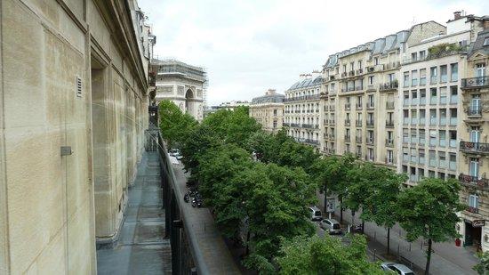 Etoile Park Hotel : Vista desde el Balcón