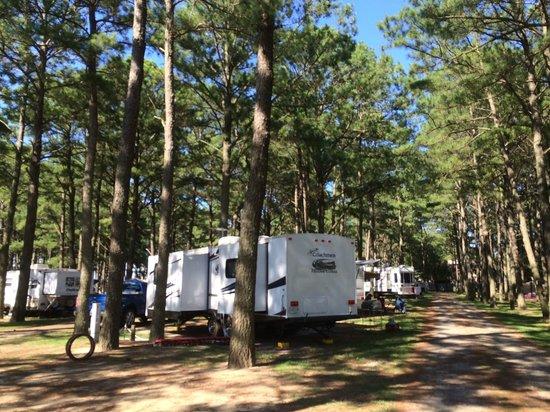 full hookup camping in va
