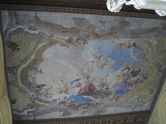 Isola del Garda: Soffitto della torre