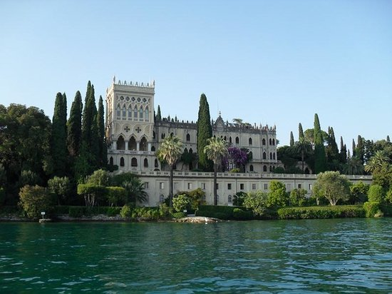 Isola del Garda: Villa dal lago