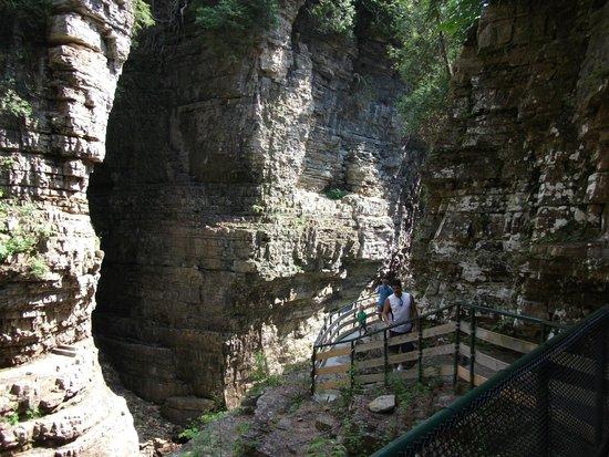 Ausable Chasm 2 mile walk around the rim